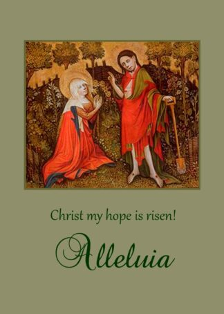 catholic easter mass cards Archives - Monastery of Our Lady of the